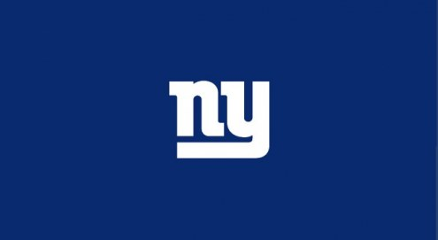 New York Giants NFL Team Logo Billiard Cloth