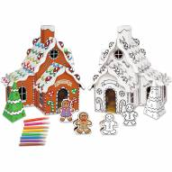 Gingerbread House Buildable Cardboard Creations Play Set