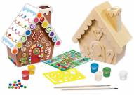 Gingerbread House Wood Paint Kit