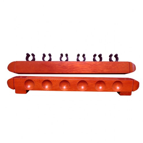 GLD 6 Cue Wall Rack
