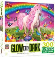 Glow in the Dark Rainbow World 300 Piece EZ Grip Puzzle