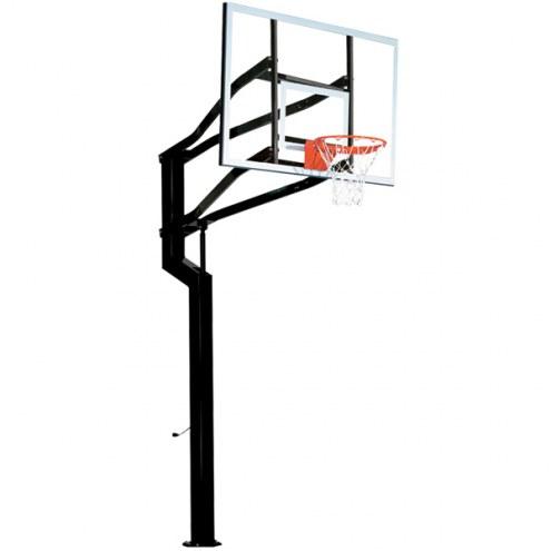 Goalsetter Captain In-Ground Adjustable Basketball Hoop