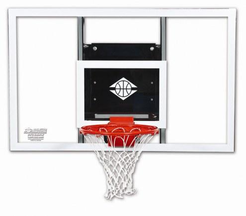 Goalsetter GS54 Baseline Fixed Height Wall Mount Basketball Hoop
