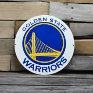 "Golden State Warriors 12"" Steel Logo Sign"