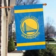 Golden State Warriors 2-Sided Banner Flag