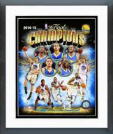Golden State Warriors 2015 NBA Finals Champions Composite Framed Photo