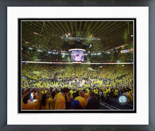 Golden State Warriors Western Conference Finals Framed Photo