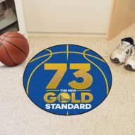 Golden State Warriors 73 Basketball Mat