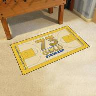 Golden State Warriors 73 NBA Court Large Runner
