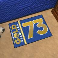 Golden State Warriors 73 Starter Rug