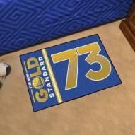 Golden State Warriors 73 Starter Rug