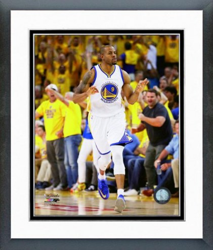 Golden State Warriors Andre Iguodala Game 5 of the NBA Finals Framed Photo