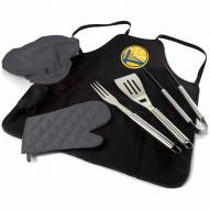 Golden State Warriors BBQ Apron Tote Set