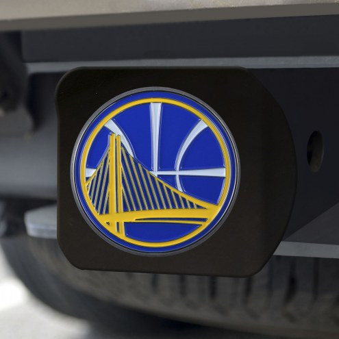 Golden State Warriors Black Color Hitch Cover