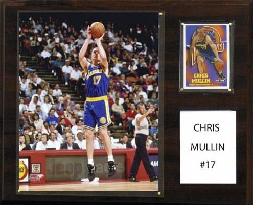 "Golden State Warriors Chris Mullin 12"" x 15"" Player Plaque"