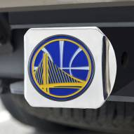 Golden State Warriors Chrome Color Hitch Cover