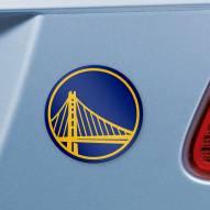 Golden State Warriors Color Car Emblem