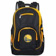 NBA Golden State Warriors Colored Trim Premium Laptop Backpack