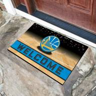 Golden State Warriors Crumb Rubber Door Mat