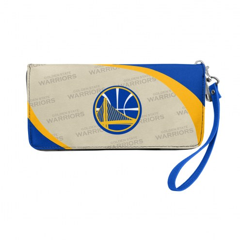 Golden State Warriors Curve Zip Organizer Wallet