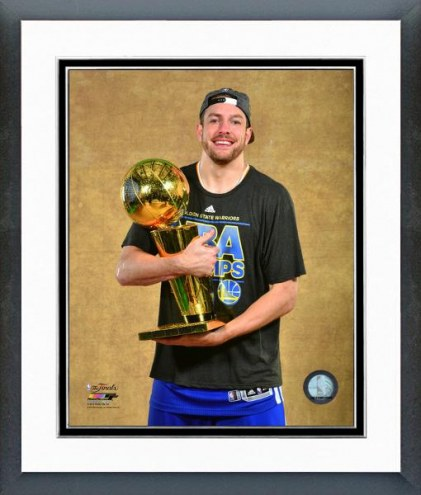 Golden State Warriors David Lee NBA Finals Framed Photo