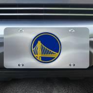 Golden State Warriors Diecast License Plate