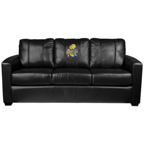 Golden State Warriors XZipit Silver Sofa