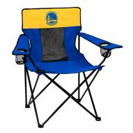 Golden State Warriors Elite Tailgating Chair