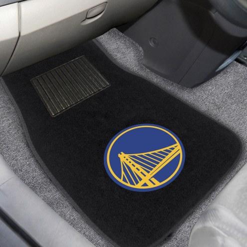 Golden State Warriors Embroidered Car Mats