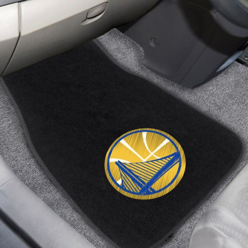 Golden State Warriors Embroidered Car Mats