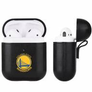 Golden State Warriors Fan Brander Apple Air Pods Leather Case