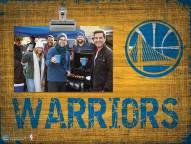 Golden State Warriors Wood Clip Frame