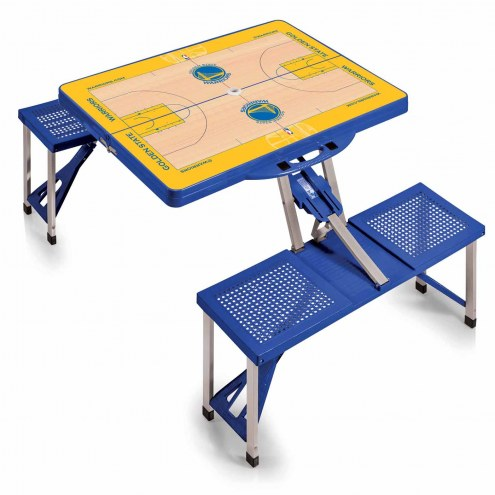 Golden State Warriors Folding Picnic Table
