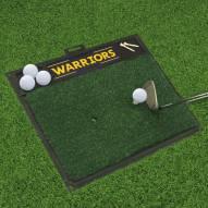 Golden State Warriors Golf Hitting Mat