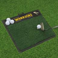Golden State Warriors Golf Hitting Mat