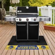 Golden State Warriors Grill Mat