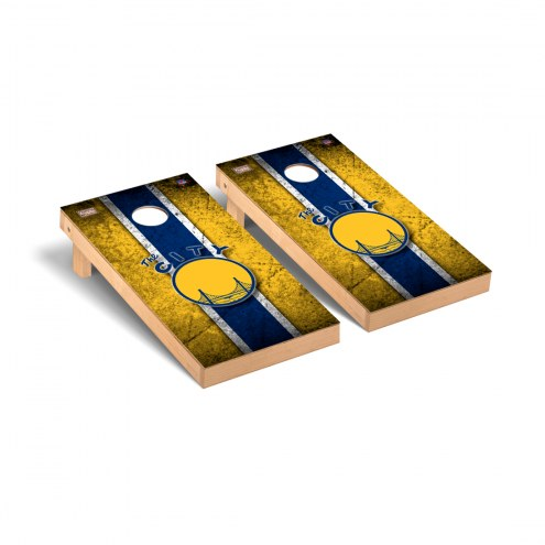 Golden State Warriors Hardwood Classic Vintage Cornhole Game Set