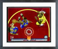 Golden State Warriors Harrison Barnes Game 4 of the 2015 NBA Finals Framed Photo