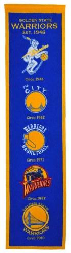 Golden State Warriors Heritage Banner