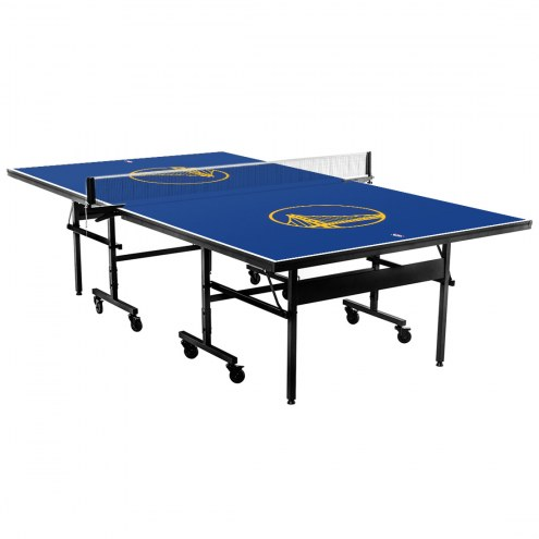 Golden State Warriors Indoor Ping Pong Table