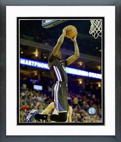 Golden State Warriors Justin Holiday Action Framed Photo