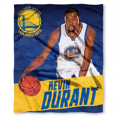 Golden State Warriors Kevin Durant Silk Touch Blanket