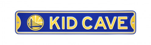 Golden State Warriors Kid Cave Street Sign