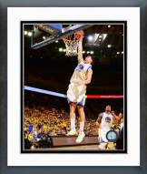 Golden State Warriors Klay Thompson Playoff Action Framed Photo