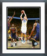 Golden State Warriors Klay Thompson Game 2 of the NBA Finals Framed Photo