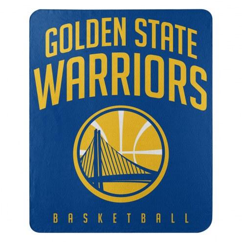 Golden State Warriors Layup Fleece Blanket