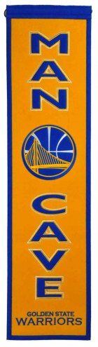 Golden State Warriors Man Cave Banner