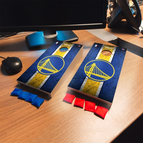 Golden State Warriors Mini Cornhole Set