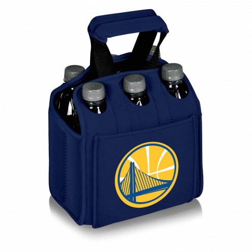 Golden State Warriors Navy Six Pack Cooler Tote