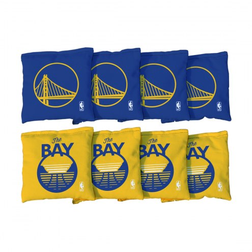 Golden State Warriors NBA Cornhole Bag Set